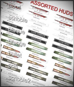 Hud Elements for FPSC