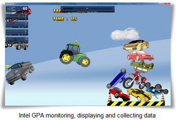 Pile Em Up Game with Intel GPA