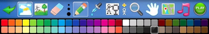 My Doodle Game Tool Bar