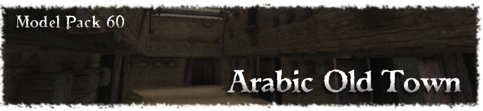 Arabic Old Town game model pack