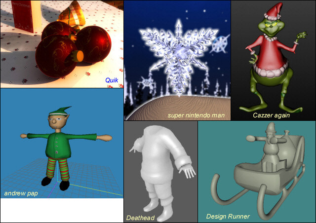3D Competition Entries