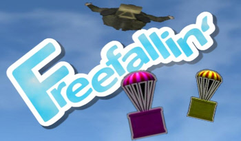 Freefallin for Android, made in AGK