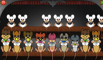 Mouse Orchestra for Apple iOS devices, developed in AGK