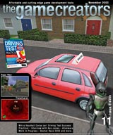The Game Creators Newsletter Issue 11 - click for a larger cover image
