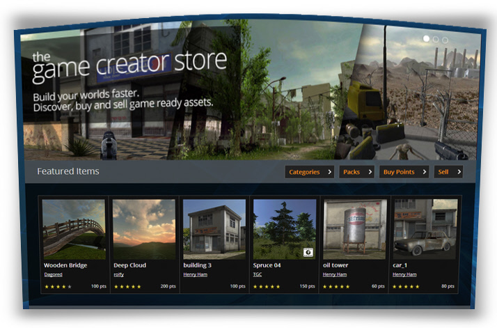The Game Creators Store