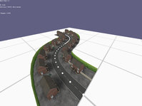 Roads made from Splines