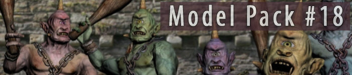 Model Pack 18 - Fantasy Characters