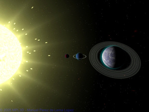 MPL3D Solar System written in DarkGDK