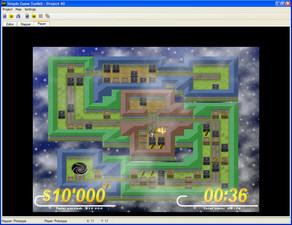 Simple Game Toolkit written in DarkBASIC Professional