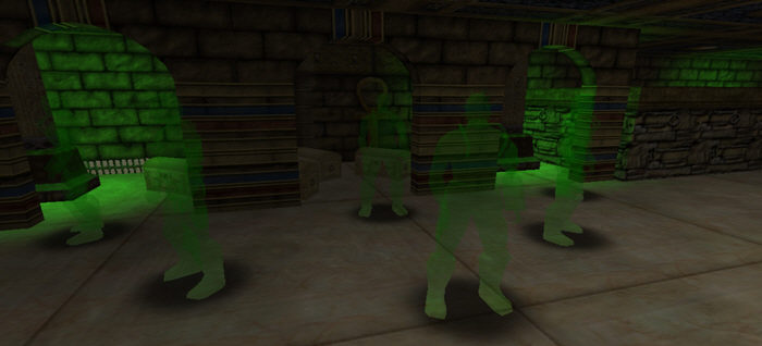 Green Ghost Effect