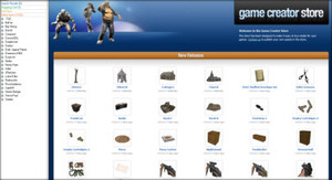 The Game Creator Store