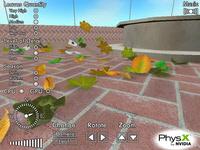 Cloth Leaves - PhysX Demo