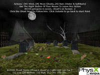 PhysX Ghosts Demo