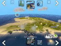 PhysX Island Demo