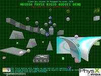 PhysX Rigid Body Demo