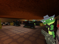 Froggy Shootout - made in FPSC
