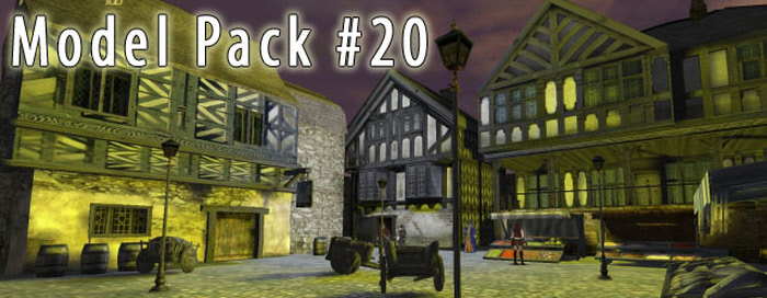 Medieval Model Pack for 3D Games