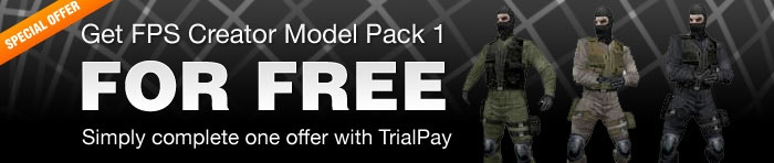 FPS Creator Model Pack 1 Free with TrialPay