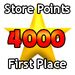 First Prize - 4000 Store Points