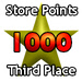 Third Prize - 1000 Store Points