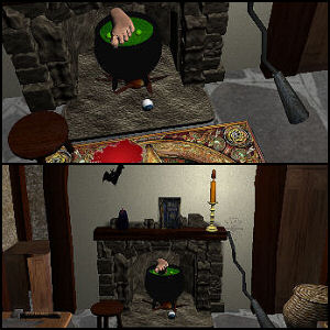 Witch Hut 3D Master