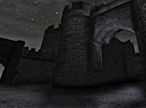 Castle Exterior for FPS Creator