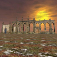 Wartorn Church 3D Game Model