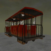 Rail Cars for FPS Creator