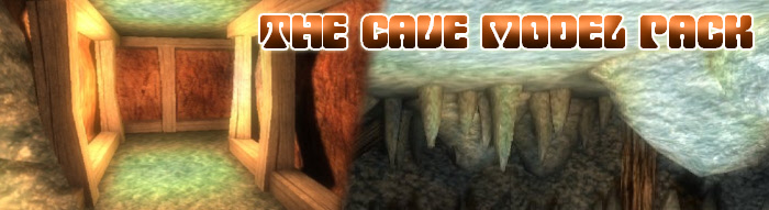 Model Paqck 43 - Caves, for FPS Creator