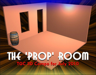 The Prop Room - 3D Modeling Competition