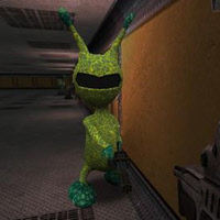 Alien animated creature for FPS Creator