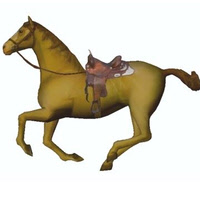 Game Ready Horse Model