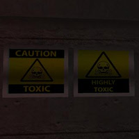 Hazard Signs for 3D Games