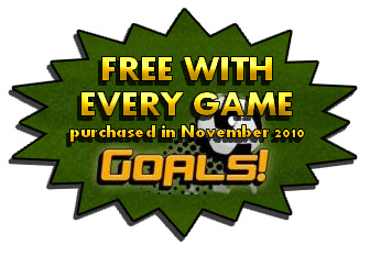 Goals Free with every game purchased