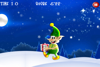 Santa's Bad Elf free mobile game