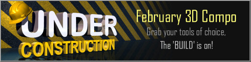 Under Construction - 3D Modeling Competition