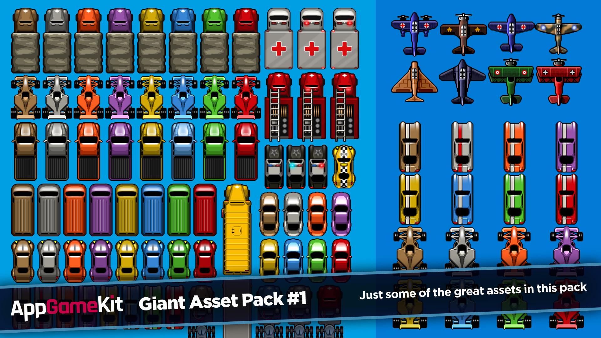 AppGameKit - AppGameKit Giant Asset Pack 1