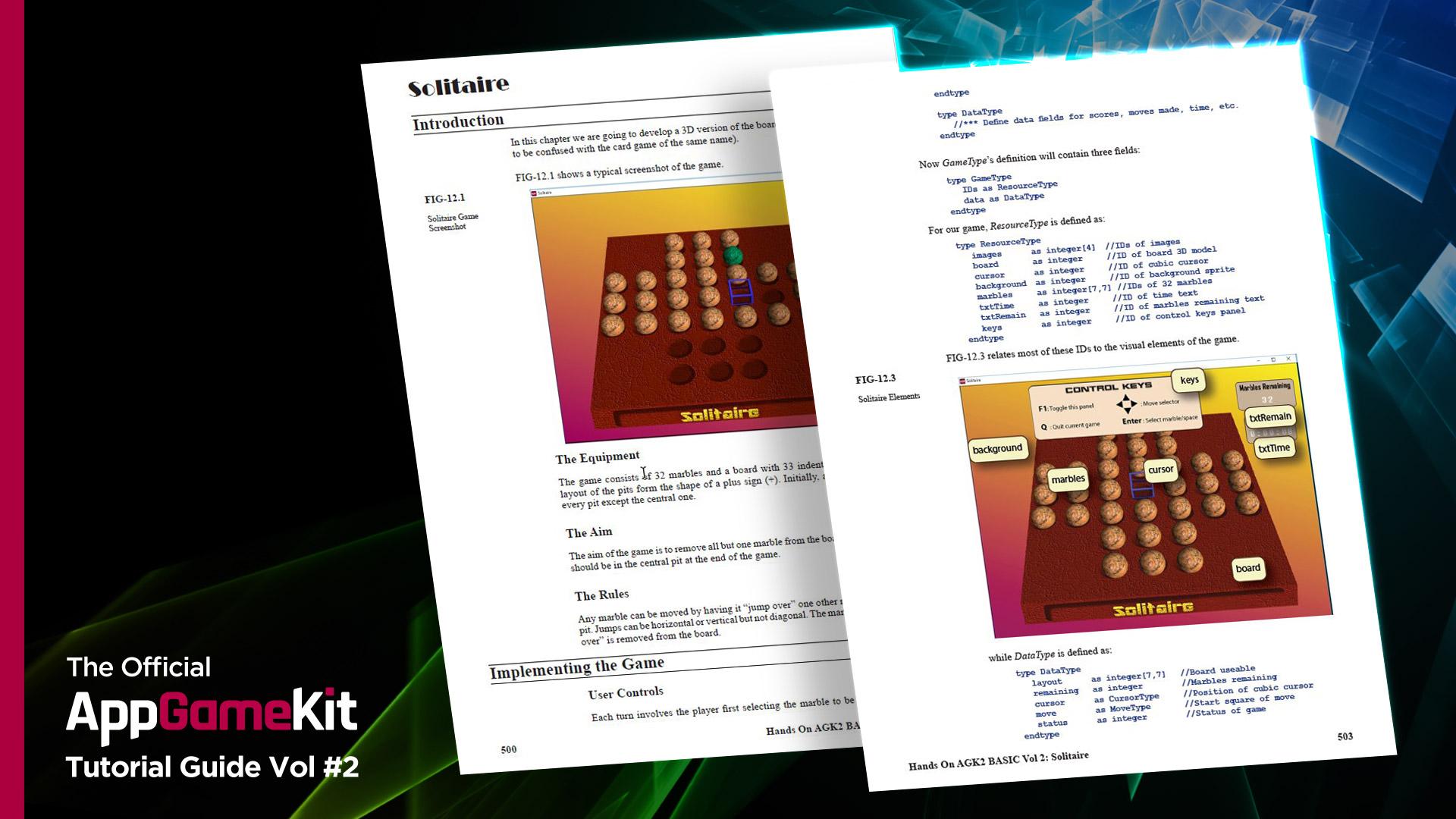 AppGameKit - AppGameKit Official Tutorial Guide Vol 2